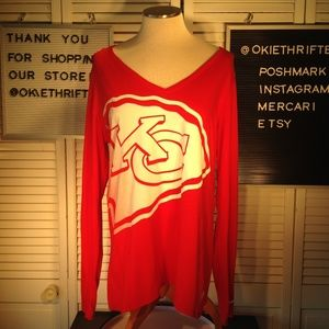 3eedbe62 Nike Tops   Kansas City Chiefs Women Shirt Size Xl   Poshmark